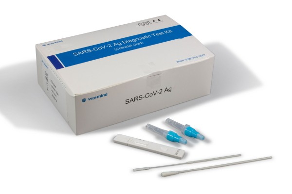 Watmind Corona Antigen Schnelltest (Speichel: Lolly Test) 5er Packung